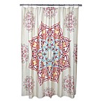 Chanda 72-Inch x 72-Inch Shower Curtain