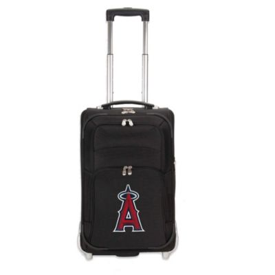 MLB Los Angeles Angels 21-Inch Wheeled Carry-On