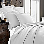 Kassatex Diamante Collection Coverlet in White