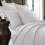 Kassatex Modena Collection Coverlet in White