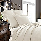Kassatex Positano Collection Coverlet in Ivory