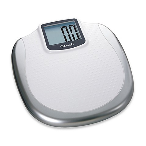 Buy escalir extra large display digital bathroom scale for Bathroom scales at bed bath and beyond