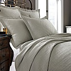 Kassatex Modena Collection Coverlet in Flax