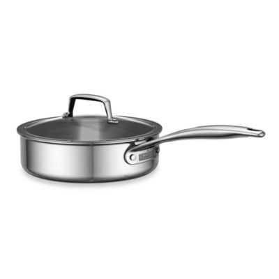ZWILLING® Energy 3-Quart Polished Stainless Steel Covered Saute Pan