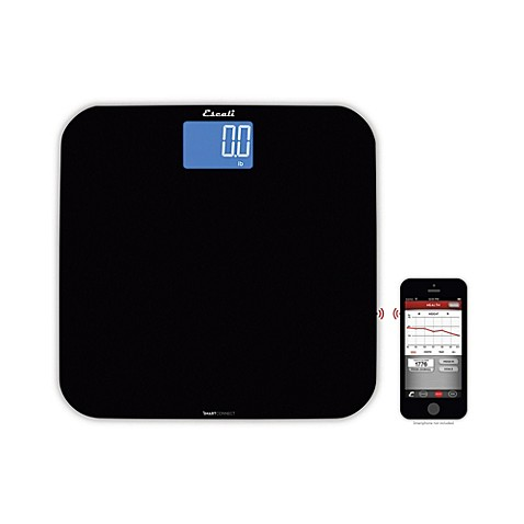 buy escali smartconnect body bathroom scale with bluetooth from bed bath beyond