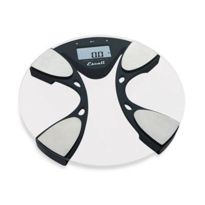 Escali® Body Fat/Water Bathroom Scale
