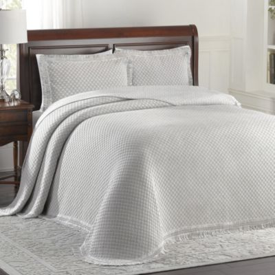 Woven Jacquard Standard Pillow Sham in Grey