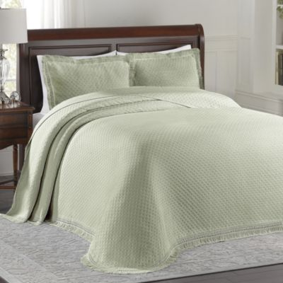 Lamont Home™ Woven Jacquard Standard Pillow Sham in Sage