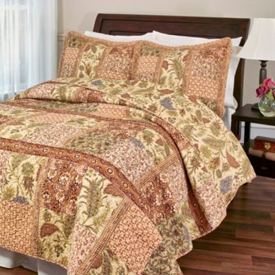 Ceylon Tea Twin Quilt Set