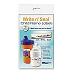 Whoozems™ Write n' Seal™ Child Name Labels (Pack of 18)