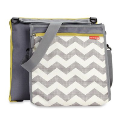 Skip*Hop® Central Park Outdoor Blanket and Cooler Bag in Chevron