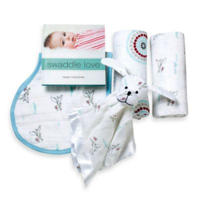 aden + anais® Liam the Brave Newborn Baby Gift Set