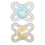 MAM Start Size Newborn to 2 Months Pacifier in Blue/Green (2-Pack)