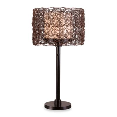 Kenroy Home Tanglewood Indoor/Outdoor 28-Inch Table Lamp