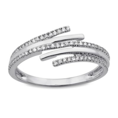 White Gold Wrap Ring