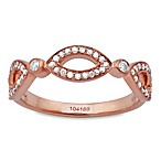 Violet and Sienna 14K Rose Gold 0.25 cttw Diamond Open Marquise Ring