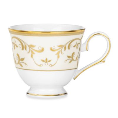 Lenox® Opal Innocence™ Gold 6-1/2-Ounce Tea Cup in White