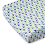 Caden Lane® Preppy Changing Pad Cover in Navy