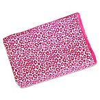 Caden Lane® Girly Pink Leopard Blanket