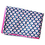 Caden Lane® Preppy Blanket in Pink/Navy