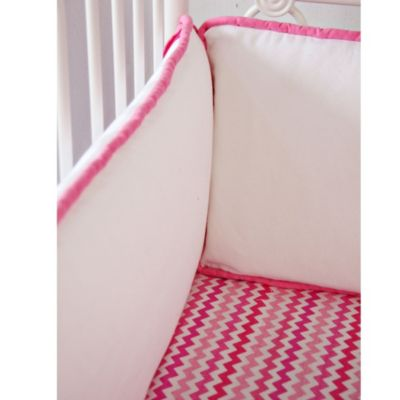 Caden Lane® Girly Zig Zag Bumper