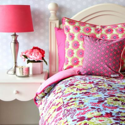 Caden Lane® Plum Crazy Twin Duvet Cover