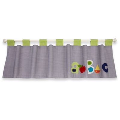 NoJo® ABC with Me by Jill McDonald Window Valance