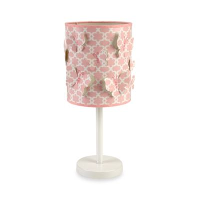 NoJo® Butterfly Love Lamp and Shade