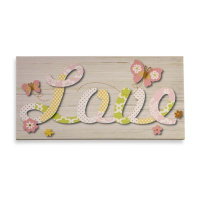 NoJo® Butterfly Love Canvas Art