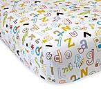 NoJo® ABC with Me by Jill McDonald Crib Sheet