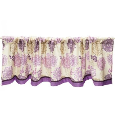 The Peanut Shell® Dahlia Window Valance