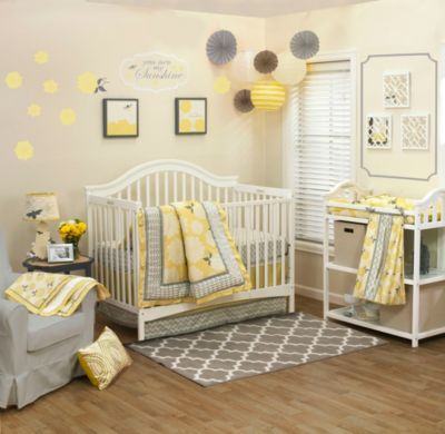 The Peanut Shell® Stella 4-Piece Crib Bedding Set