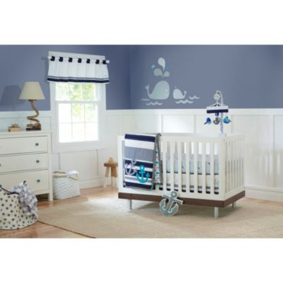 Just Born® High Seas Bedding Collection 3-Piece Crib Set