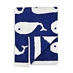 Just Born® High Seas Bedding Collection Sweater Knit Jacquard Blanket