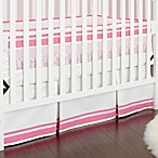 Just Born® Safe Sleep Fresh Air Crib Liner in Pink