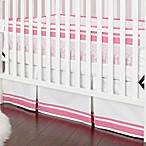 Just Born® Safe Sleep Crib Skirt in Pink