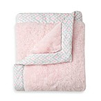 Just Born® Safe Sleep Cuddle Plush Blanket in Pink