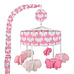 Just Born® Safe Sleep Music Mobile in Pink/White