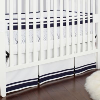 Just Born® Mix & Match Safe Sleep Fresh Air Crib Liner in Navy