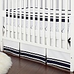 Just Born® Safe Sleep Crib Skirt in Navy