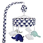 Just Born® Safe Sleep Music Mobile in Navy/White