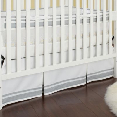 Just Born® Mix & Match Safe Sleep Fresh Air Crib Liner in Grey