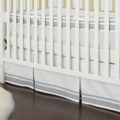 Just Born® Mix & Match Well Sleep Crib Skirt in Grey