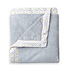Just Born® Mix & Match Classic Collection Cuddle Plush Blanket in Grey