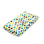 True Baby Tree Tops Changing Pad Cover in Polka Dot