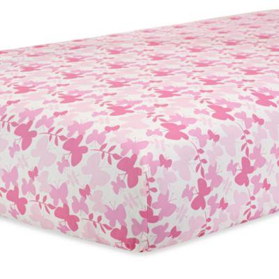 Just Born® Safe Sleep Botanica Crib Sheet