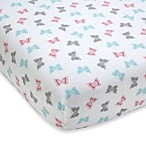 Wendy Bellissimo™ Pink Butterflies Crib Sheet