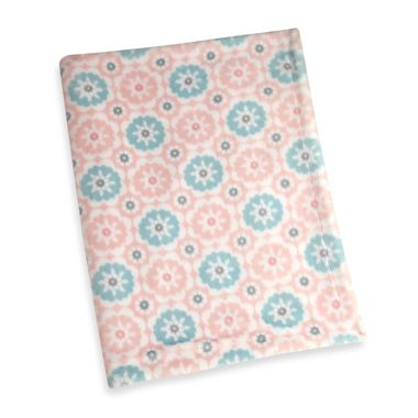 Wendy Bellissimo™ Pink Printed Abstract Blanket