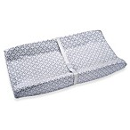 Wendy Bellissimo Unisex Contoured Changing Pad Cover in Pearl Grey