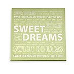 Wendy Bellissimo Unisex Sweet Dreams Canvas Wall Art